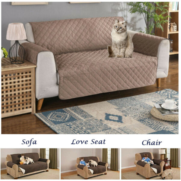 Sofa Cover Couch Chair Loveseat Slipcover Furniture Protector Pet Mat Waterproof $19.71