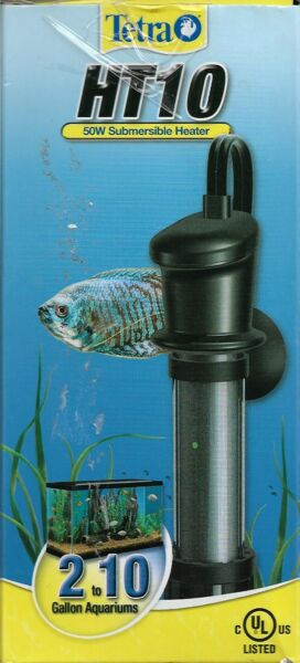 Tetra Ht10 Submersible Aquarium Heater 50 Watt $8.99