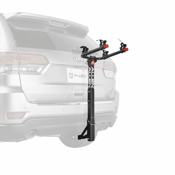 Allen Sports Deluxe 2 Bicycle Hitch Mounted Bike Rack Carrier 522RR $65.99