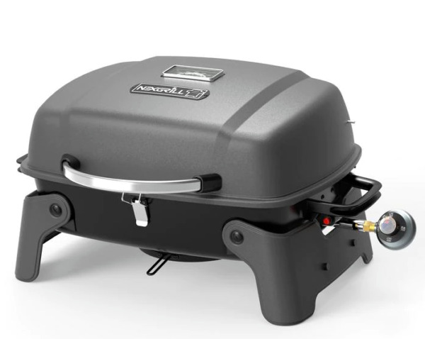 Nexgrill Portable Table Top Grill 1 Burner Propane Gas Black Compact BBQ Picnic