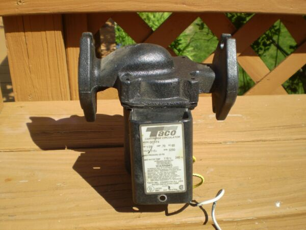 Used Taco 007 F4 Circulator Pump $25.00