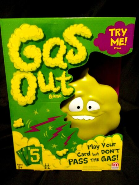 Game for all ages Gas Out $15.99