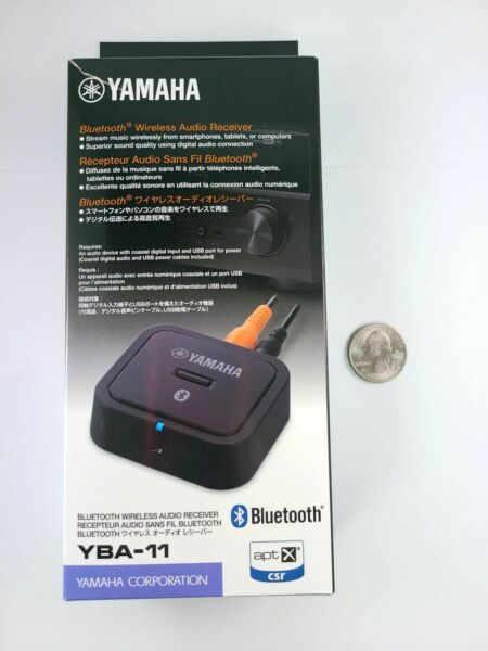 Yamaha Bluetooth Wireless Audio Receiver Coaxial Digital Output Only YBA11 $120.00