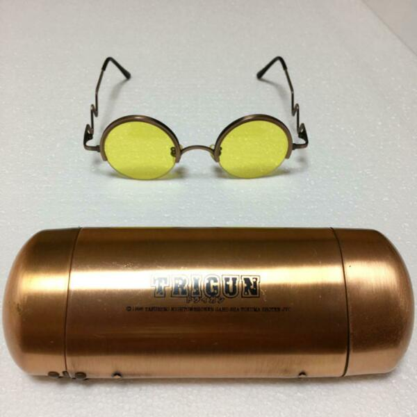 TRIGUN Vash the Stampede Sunglasses Glasses Cosplay Costume Anime Official