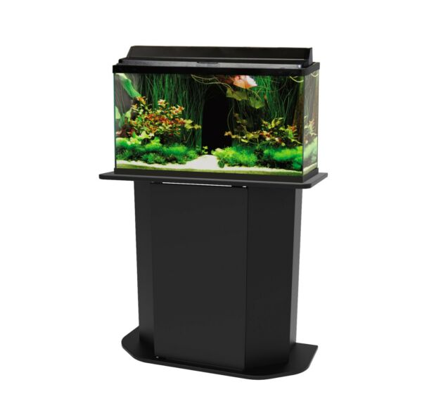 Fish Tank Holder Deluxe 20 29 Gallon Aquarium Stand Storage Cabinet Wood Door $74.99