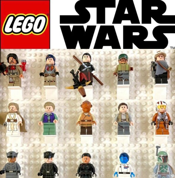 Authentic Lego Star Wars Minifigures with Accessories YOU CHOOSE $5.95