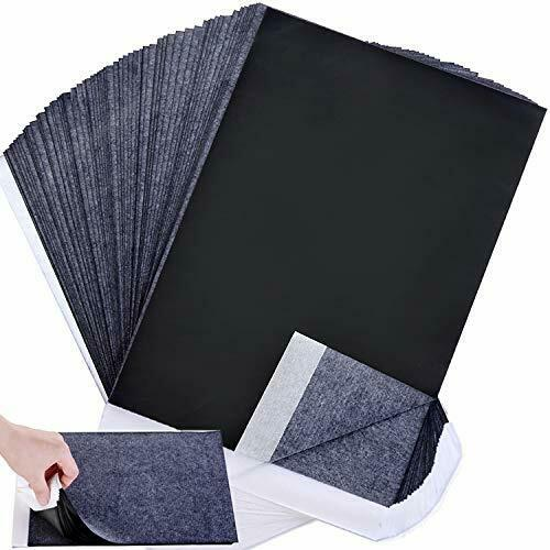 Carbon Paper Black Graphite Transfer Tracing Paper for Wood Paper Canvas and $11.52