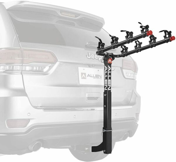 NEW TYGER Deluxe 4 bike Carrier Rack Hitch Mount with Pin Lock amp; Cable Lock amp; ** $114.00