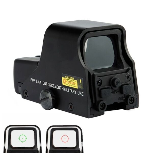 Red Green Dot Holographic Reflex Sight Tactical Optics Scope Model 553 W Battery