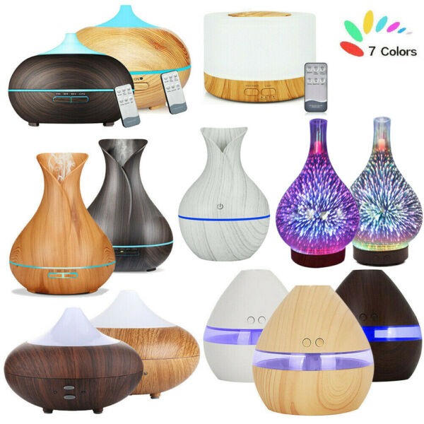 Ultrasonic LED Essential Oil Aroma Diffuser Air Purifier Aromatherapy Humidifier $18.99