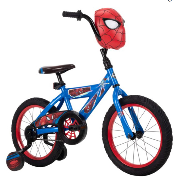 Boys Bicycle 12 Inch Huffy Marvel Spider Man Bike For Kids 3 5 years Best Gift $85.99