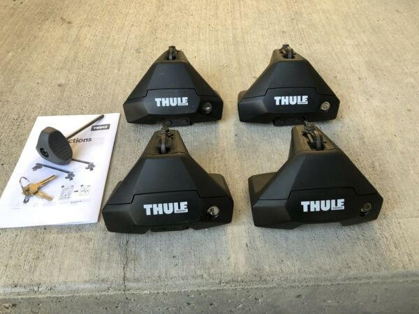Thule Evo Clamp Set of 4 with Locks amp; Keys Excellent Condition $164.95