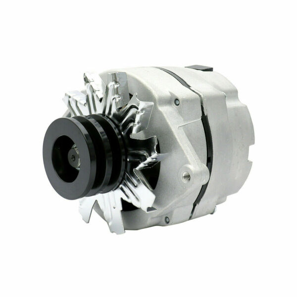 New Alternator For Chevy GMC 10SI 1 Wire One Wire w 2 Groove Pulley 7127 SEN 2G $61.95