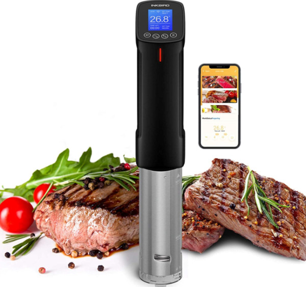 Inkbird WIFI Sous Vide Precision Cooker Thermal Immersion Circulator 1000 Watts $57.70