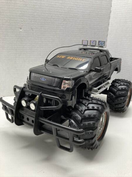 New Bright RC Ford F150 Harley Davidson Truck Body with push bumper brush guard $29.99
