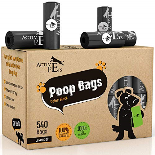 Active Pets Dog Poop Bag Extra Thick Dog Waste Bags Leak Proof Dog Bags For $37.57