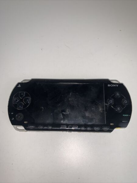 Sony Psp 1001 PlayStation Portable PSP Video Game System Black PARTS ONLY
