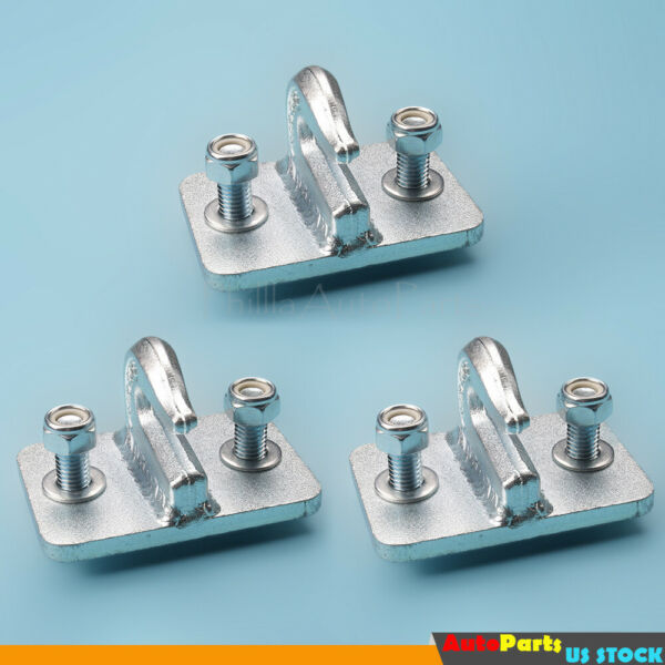 5 16quot; Bolt On Grab Hook For Skid Steer Loader Tractor Bucket Heavy Duty 3 Pieces $34.09