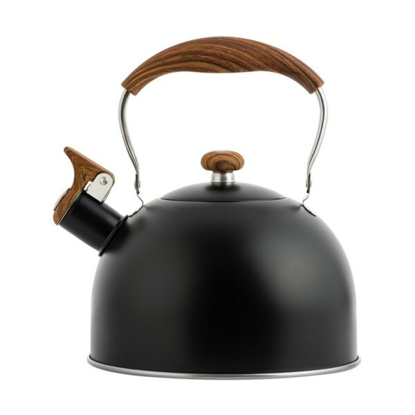 2.5L Stainless Steel Whistling Tea Kettle Teapot Coffee Stovetop Boil Water New