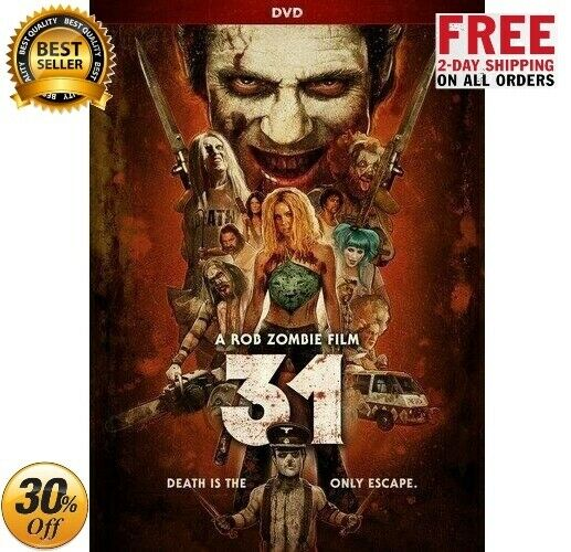 31 DVD Horror Movie with Sheri Moon Zombie amp; Meg Foster by Rob Zombie