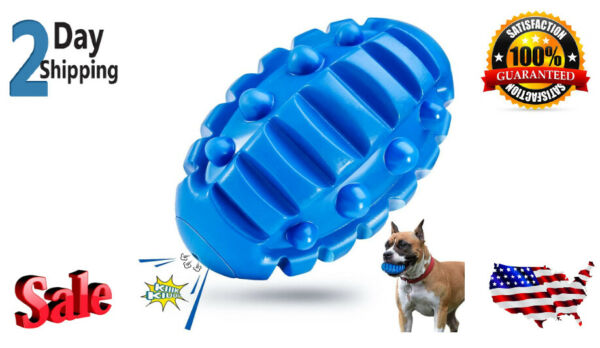 Dog Chew Toys for Aggressive ChewersIndestructible Dog Toys Squeaky Tough Fetch $11.35
