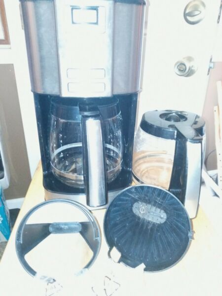 Cuisinart 14 Cup Stainless Steel Coffeemaker Machine Brew Automatic Central...