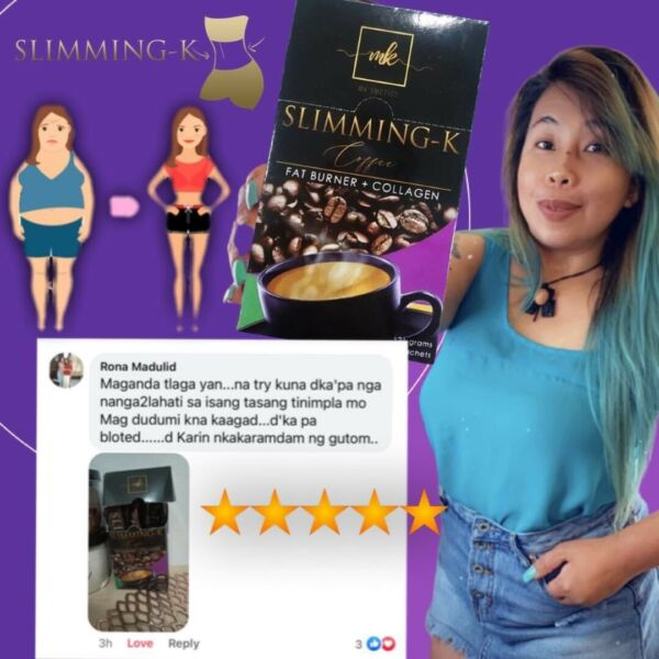 3 BOXES $60 SLIMMING K Coffee By Madam Kilay