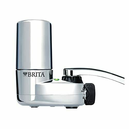 Brita Basic Faucet Water Filter System Chrome 1 Count 1 ct Chrome