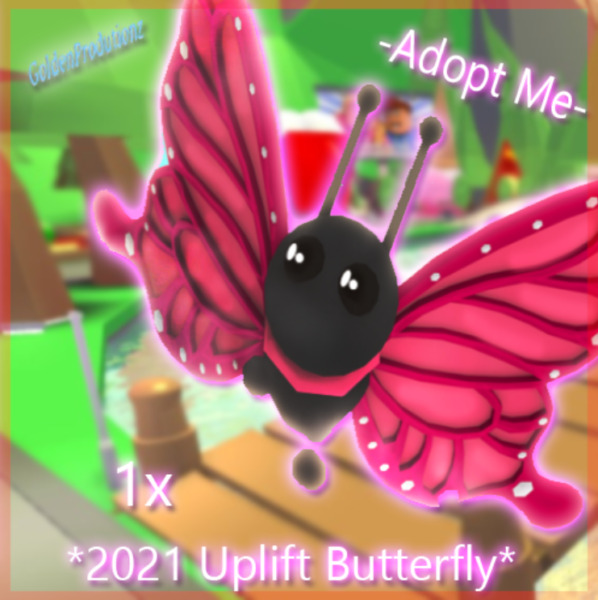 Roblox Adopt Me 1x 2021 Butterfly Uplift Read Description Quick Delivery $0.99
