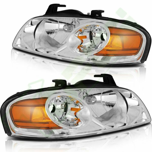 Headlights Assembly for Nissan Sentra Sedan 2004 2006 Replacement Front Pair