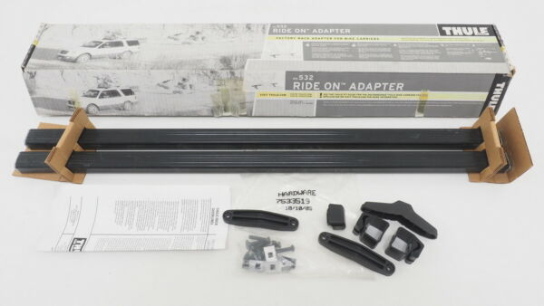 Thule Ride on Adapter No 532 Factory Rack Adapter for Bike Racks FOR PARTS $29.99