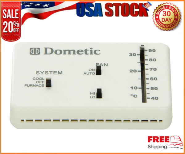 RV Camper Duo Therm Dometic Thermostat Heat amp; Cool 3106995032 Direct Replacement $49.51