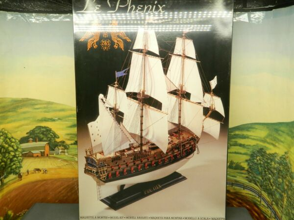 1 150 Kit Heller No. 891 LE PHENIX FRENCH SHIP OF THE LINE New Sealed Box