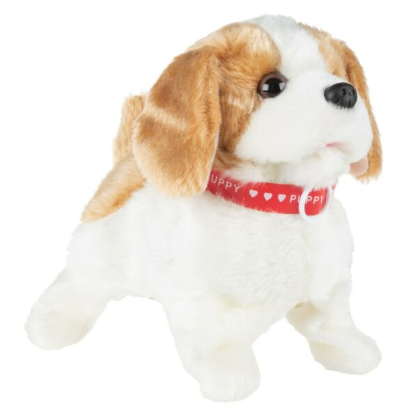 Interactive Plush Puppy Toy– Battery Operated Dog that Walks Barks and Does Bac $23.25