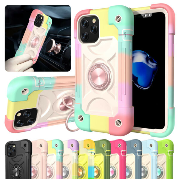 Shockproof Phone Case For iPhone 13 12 Pro Max 11 XR 8 7 Rugged Heavy Duty Cover $11.99