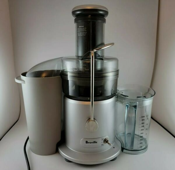 Breville JE98XL Juice Fountain Plus Juicer Brushed Stainless Steel with Box