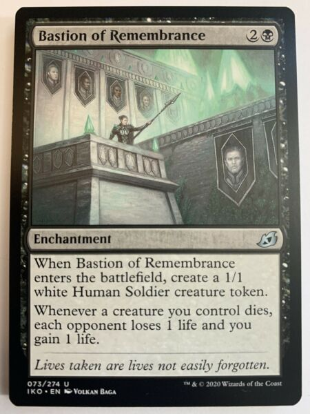 MTG Bastion of Remembrance Brand New $1.00
