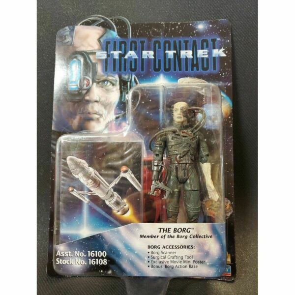 Star Trek First Contact Playmates 16108 The Borg Action Figure