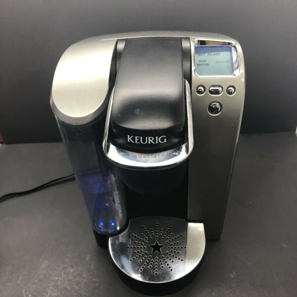 Keurig B70 Single Serve Coffee Maker Silver Nice Condition Offers Accepted