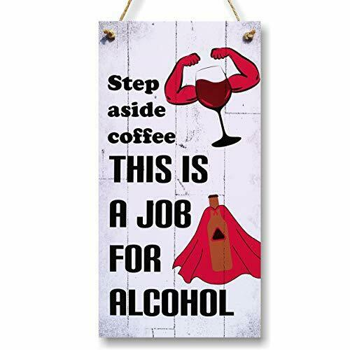 CARISPIBET Step Aside Coffee Home Decorative Sign Funny amp; Cheeky Humorous D...