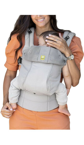 LILLEbaby 6 In 1 Complete All Seasons Baby Carrier 3D Cotton Newborn To Toddler $55.00