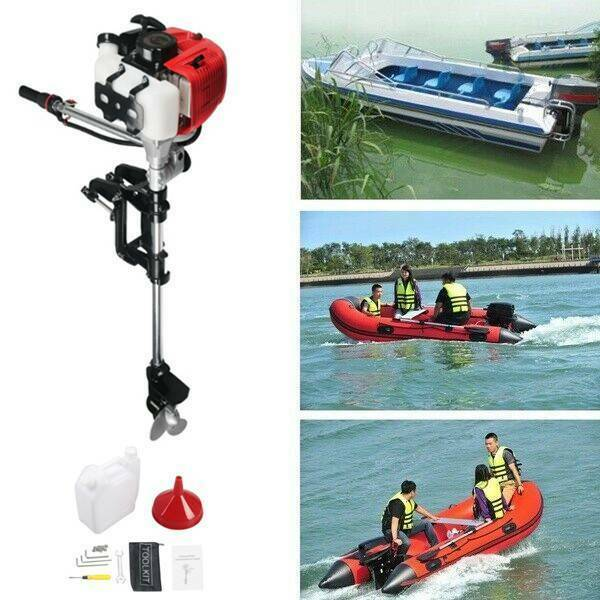 ⭐⭐3.6 HP2 Stroke 52CC ⭐⭐Outboard Motor Fishing Boat Gas Engine Air Cooled USA $215.99
