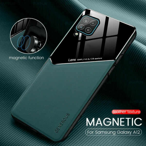 Case For Samsung Galaxy A51 A71 A12 A32 A42 5G Hybrid Magnetic Heavy Duty Cover $6.89