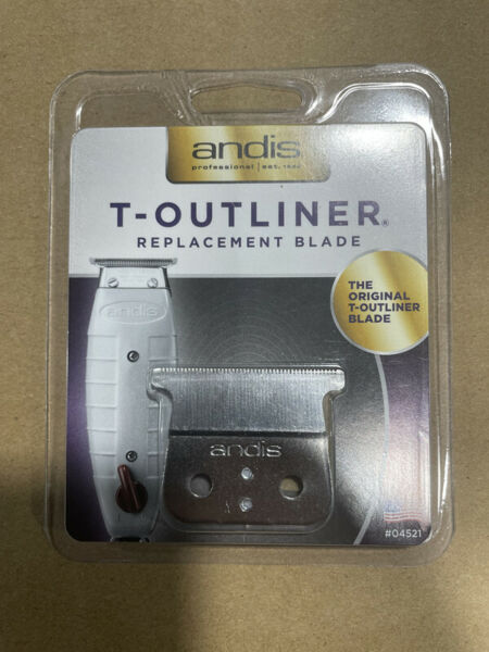 Andis Carbon steel Shaver Replacement T Blade for T Outliner Trimmer #04521) $11.00