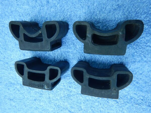 Thule Bike Strap Clips Attachment for Thule Roof Rack Set of 4 for Road Bikes $17.99