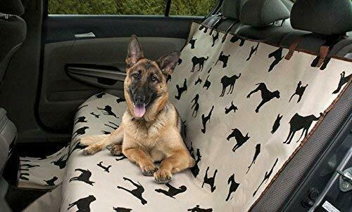 New Pet Dog Seat Cover For Car Waterproof Back Seat Plush Rear Protector Travel $23.74