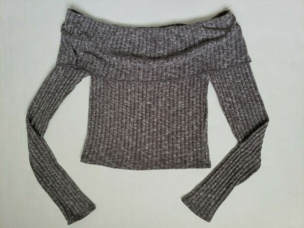 out from under For Urban Outfitters cropped sweater off the shoulders MEDIUM $17.99