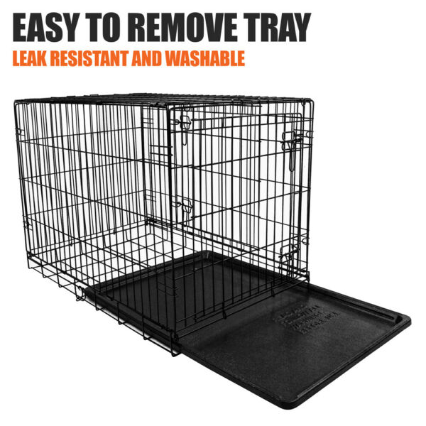 Vibrant Life Folding Dog Crate with Divider XX Large 48quot; Hot $57.99