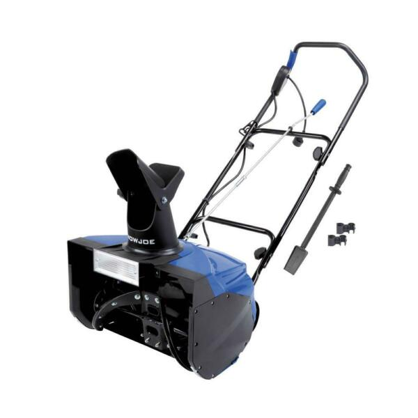 Snow Joe Snow Blower Shovel Ice Thrower Corded Electric with Light 18 in. 15 Amp