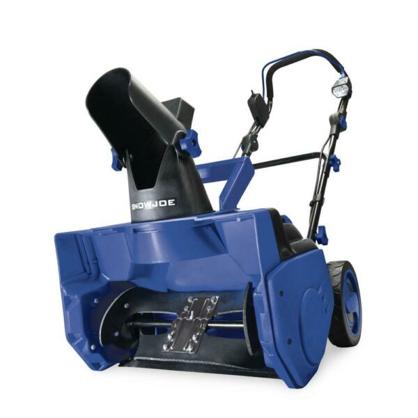 Snow Joe Snow Blower Thrower Single Stage Cordless Electric 18quot; 48v Tool Only